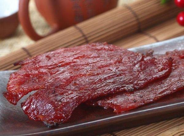 靖江猪肉脯工艺流程