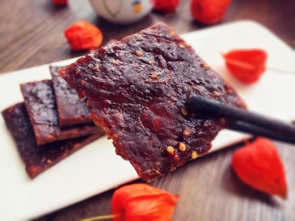 猪身上较好吃的肉是哪里?用它来做猪肉脯,肉质紧实,不干不柴